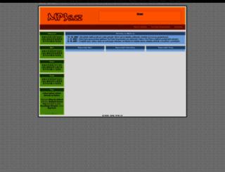 mp3s.cz screenshot