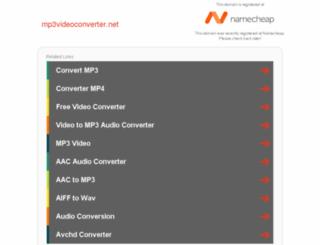 mp3videoconverter.net screenshot