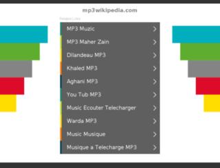 mp3wikipedia.com screenshot