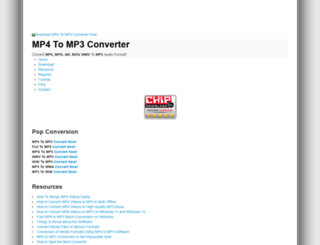 mp4tomp3converter.net screenshot