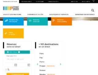 mpaeroport.fr screenshot