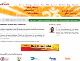 mpandit.com screenshot