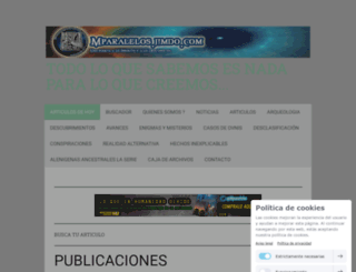 mparalelos.jimdo.com screenshot