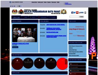 mpbp.gov.my screenshot