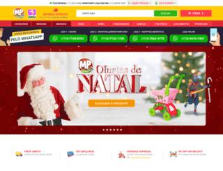 mpbrinquedos.com.br screenshot