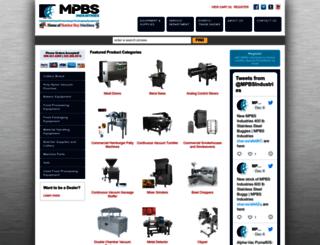 mpbs.com screenshot