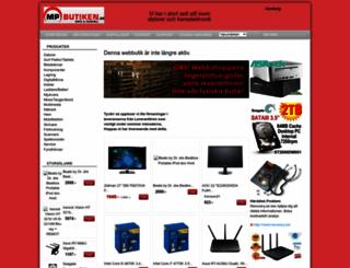 mpbutiken.se screenshot