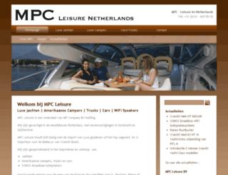 mpc-leisure.nl screenshot