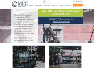 mpcbronx.org screenshot