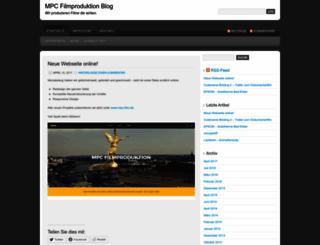 mpcfilm.wordpress.com screenshot