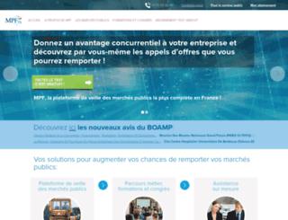 mpfrance.fr screenshot