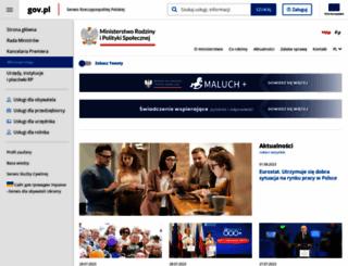 mpips.gov.pl screenshot
