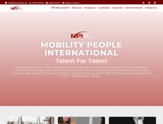 mpirecruitment.com screenshot
