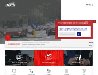 mpk.sacz.pl screenshot