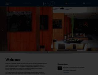 mplc.org screenshot