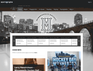 mplshockey.com screenshot