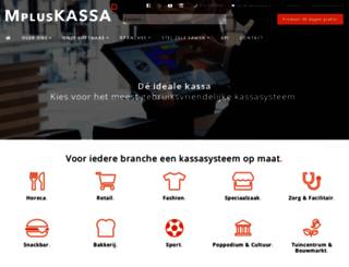 mpluskassa.nl screenshot