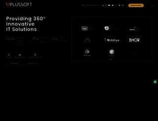mplussoft.com screenshot
