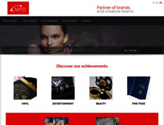 mpo-international.com screenshot