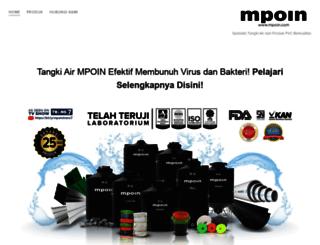 mpoin.com screenshot