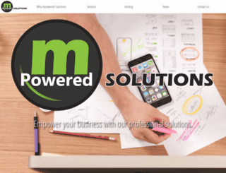 mpoweredsolutions.com screenshot