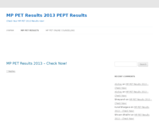 mppetresults.in screenshot