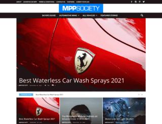 mppsociety.com screenshot