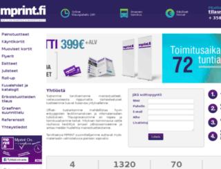 mprint.fi screenshot