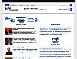 mpsconnect.com screenshot