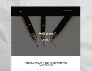 mpshaw.co.uk screenshot