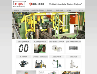 mpsmetal.com.tr screenshot