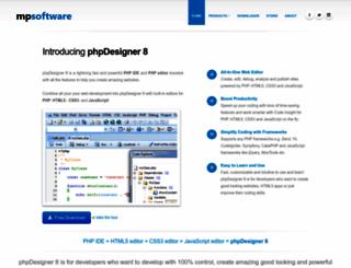 mpsoftware.dk screenshot