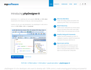 mpsoftware.eu screenshot