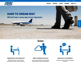 mpssoftware.com screenshot