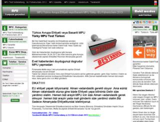 mpu-tuerk.com screenshot