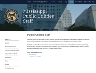 mpus.ms.gov screenshot