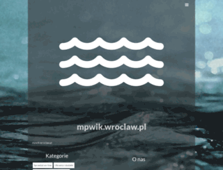 mpwik.wroclaw.pl screenshot