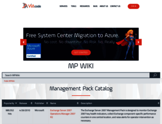 mpwiki.viacode.com screenshot