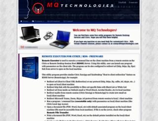 mqtechnologies.com screenshot