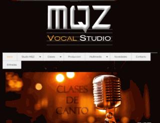 mqzvocalstudio.com.ar screenshot