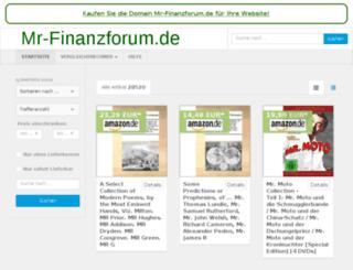 mr-finanzforum.de screenshot