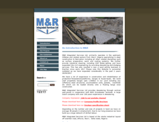 mr-integrated-services.com screenshot