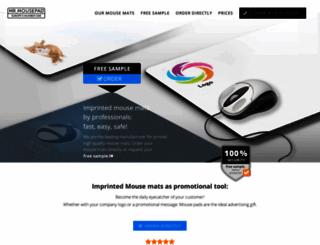 mr-mousepad.com screenshot