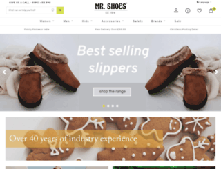 mr-shoes.co.uk screenshot