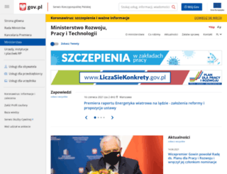 mr.gov.pl screenshot