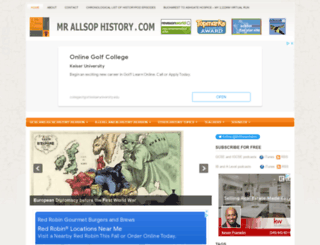 mrallsophistory.com screenshot