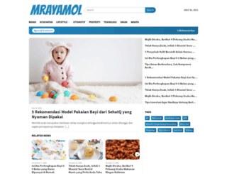 mrayamol.com screenshot
