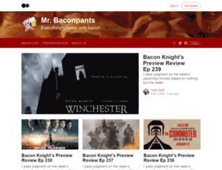mrbaconpants.com screenshot