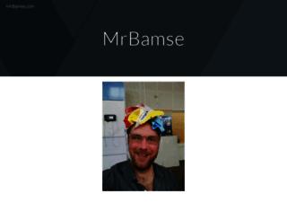 mrbamse.com screenshot