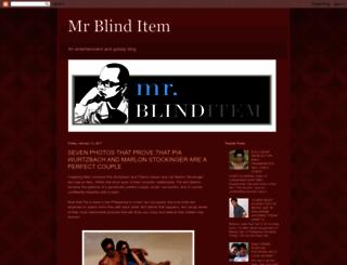 mrblinditem.blogspot.com screenshot